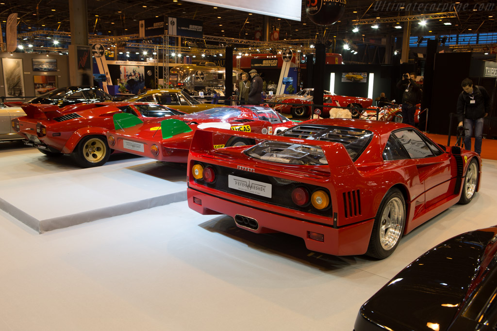 Ferrari F40 - Chassis: 89749 - Entrant: Peter Wiesner Sports & Classic Cars - 2015 Retromobile