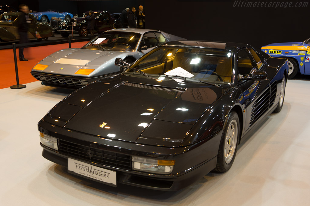 Ferrari Testarossa - Chassis: 88684 - Entrant: Peter Wiesner Sports & Classic Cars  - 2015 Retromobile