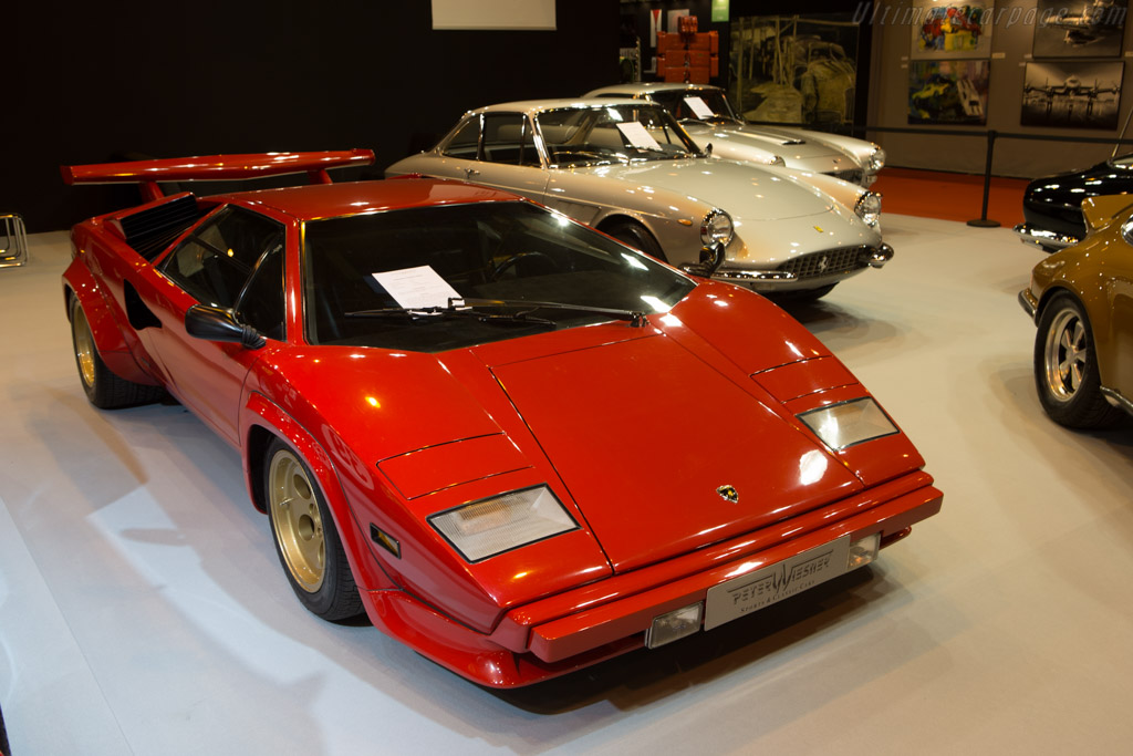 Lamborghini Countach LP400 S  - Entrant: Peter Wiesner Sports & Classic Cars  - 2015 Retromobile