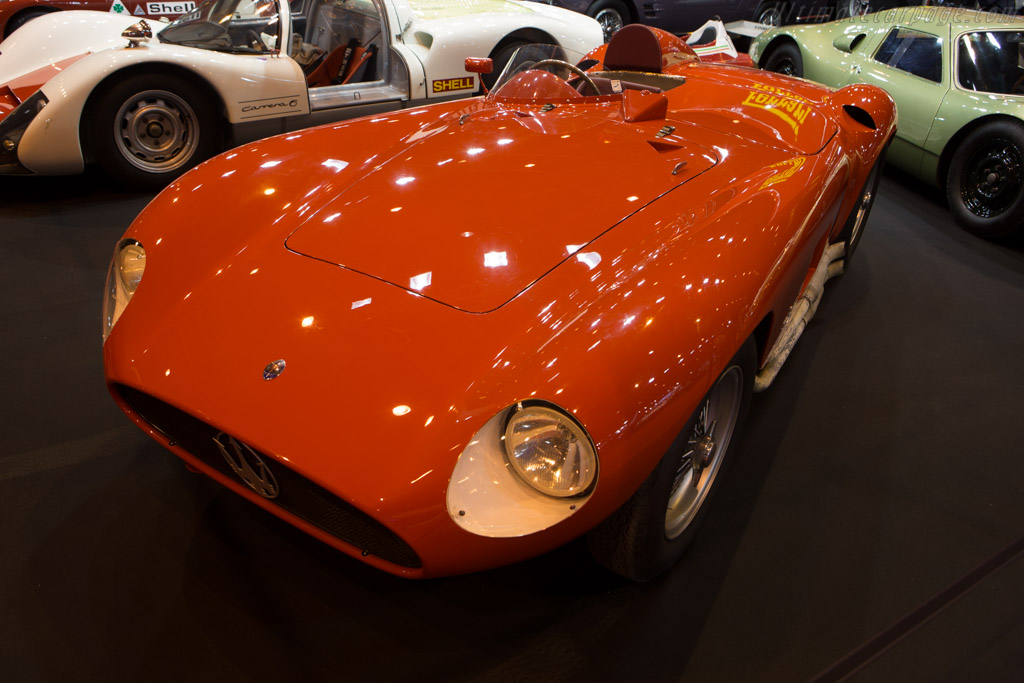 Maserati 300S - Chassis: 3061 - Entrant: Tradex  - 2015 Retromobile