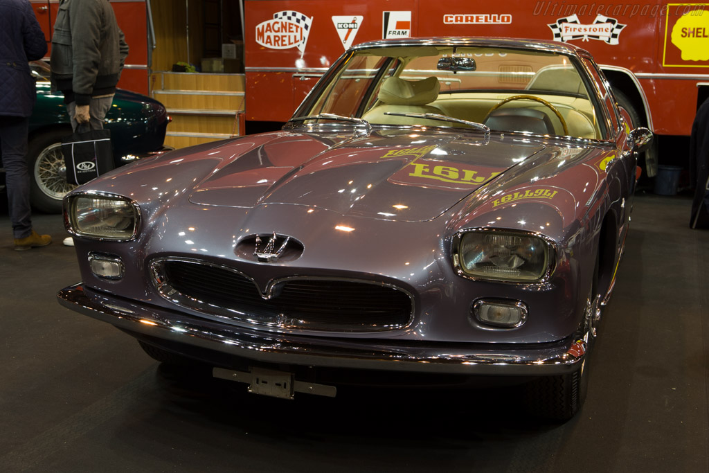 Maserati 5000 GT Frua Coupe - Chassis: 103.060 - Entrant: Tradex  - 2015 Retromobile