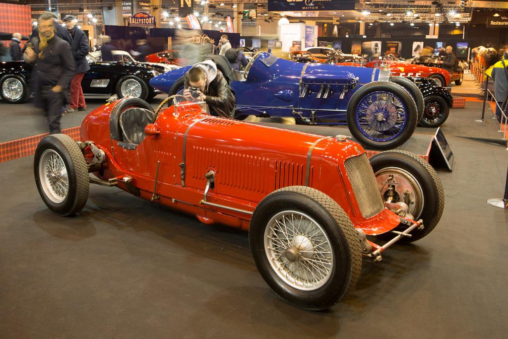 Maserati 8CM - Chassis: 3009 - Entrant: Fiskens  - 2015 Retromobile