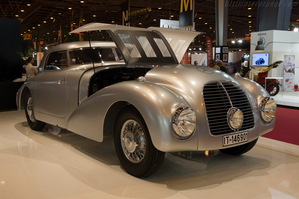 Mercedes-Benz 540 K Streamliner - Chassis: 189399 - Entrant: Daimler AG  - 2015 Retromobile
