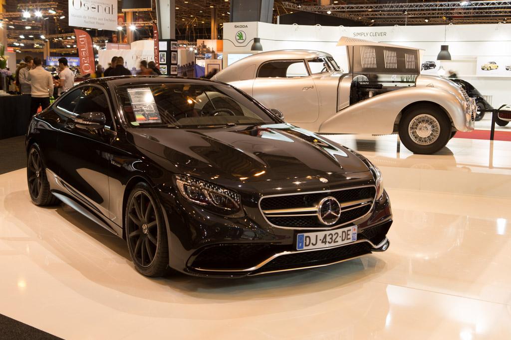 Mercedes-Benz S 63 AMG Coupe  - Entrant: Daimler AG  - 2015 Retromobile