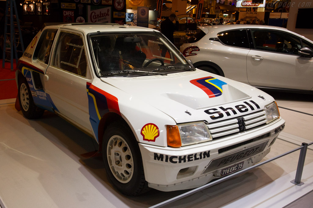 Peugeot 205 Turbo 16  - Entrant: Peugeot  - 2015 Retromobile