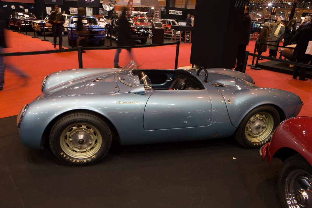 Porsche 550 Spyder Chassis 550 0023 Entrant Tradex