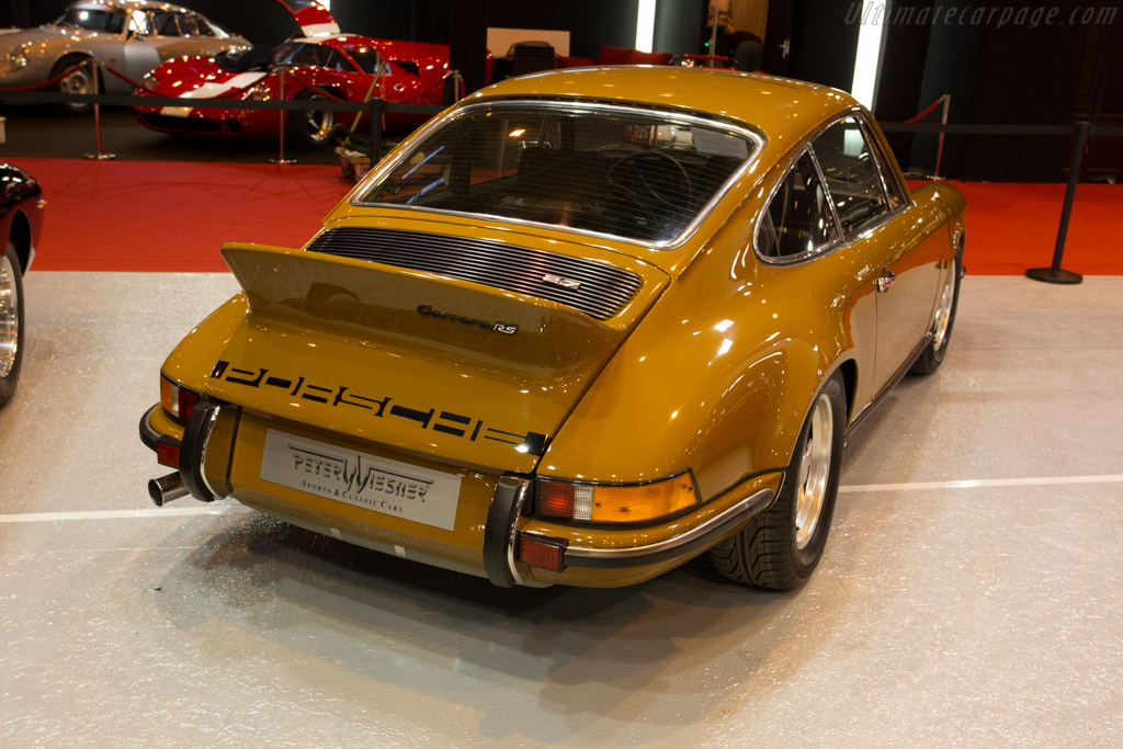Porsche 911 Carrera Rs 2 7 Entrant Peter Wiesner Sports