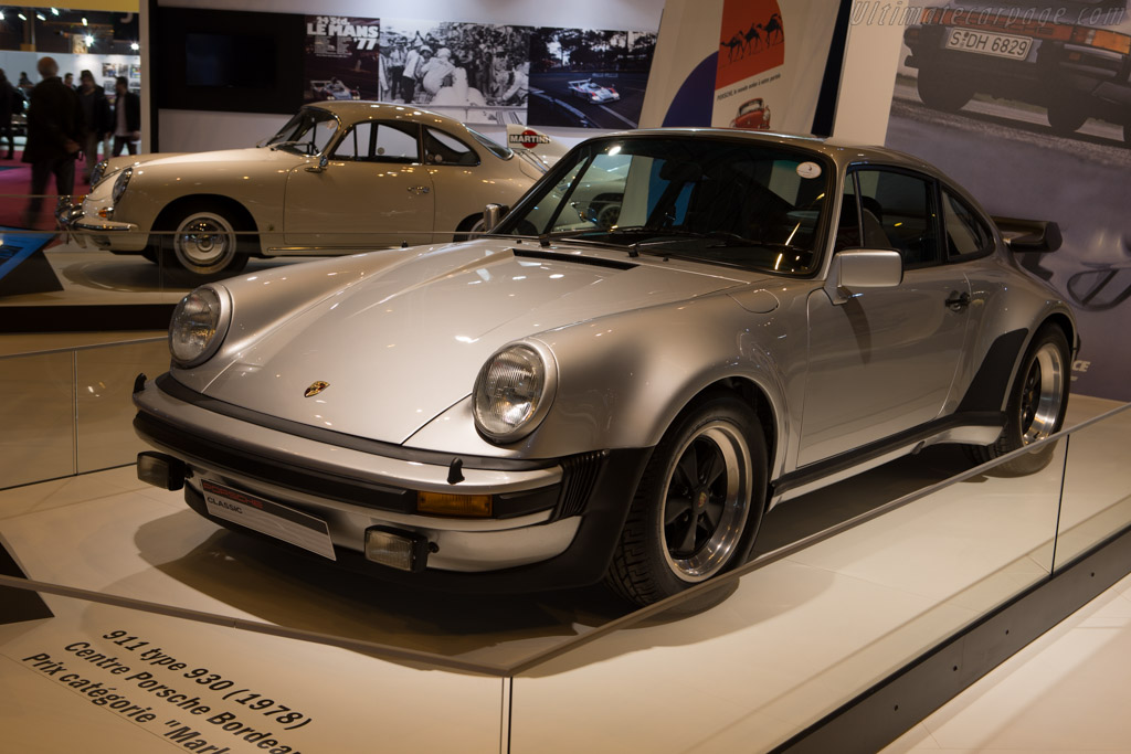 Porsche 930 Turbo  - Entrant: Porsche France  - 2015 Retromobile