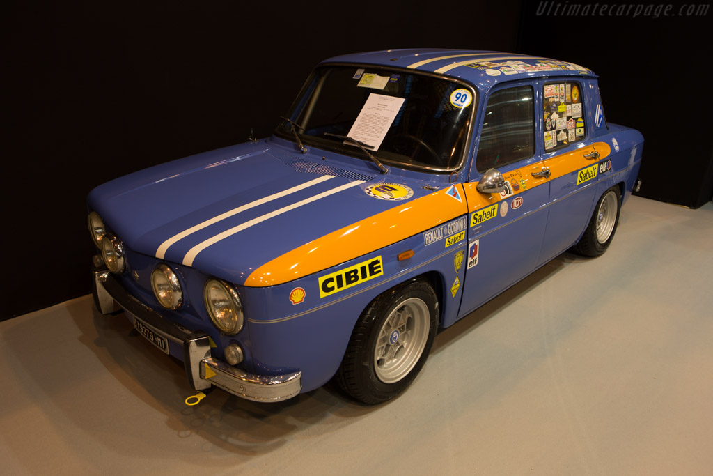 Renault 8 Gordini  - Entrant: Peter Wiesner Sports & Classic Cars  - 2015 Retromobile