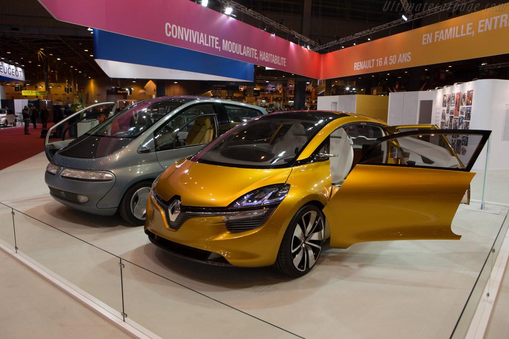 Renault R-Space Concept  - Entrant: Renault Classic  - 2015 Retromobile