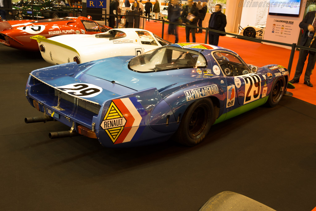 Alpine A220 - Chassis: 1736 - Entrant: Tradex  - 2016 Retromobile