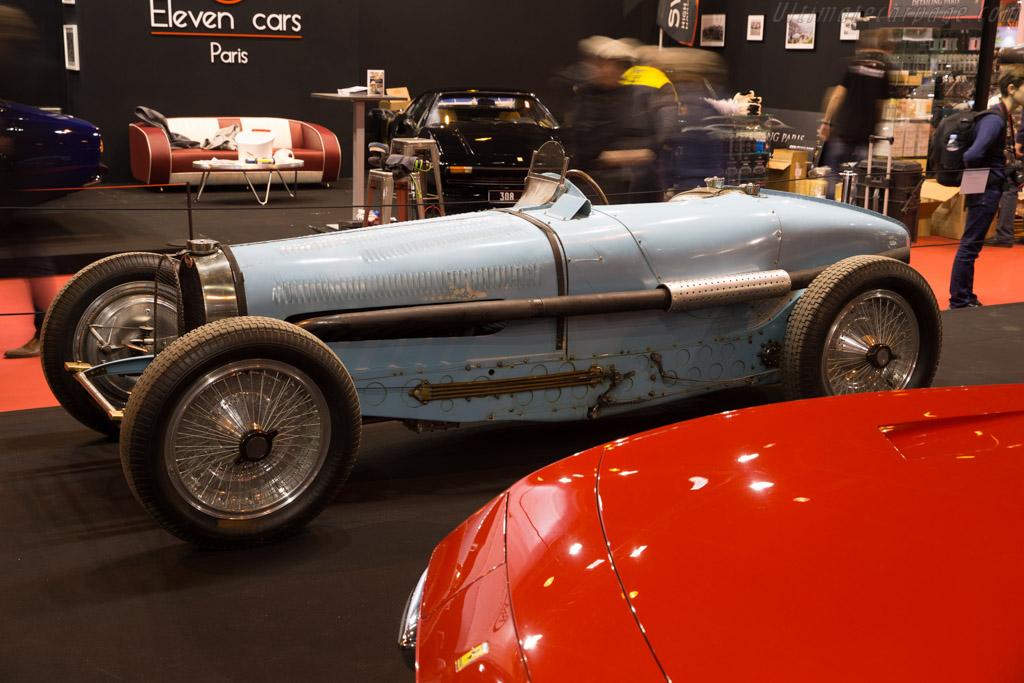 Bugatti Type 59 - Chassis: 59124 - Entrant: Lucas Hüni  - 2016 Retromobile