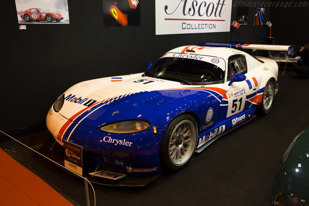 Chrysler Viper GTS/R - Chassis: C9 - Entrant: Ascott Collection  - 2016 Retromobile