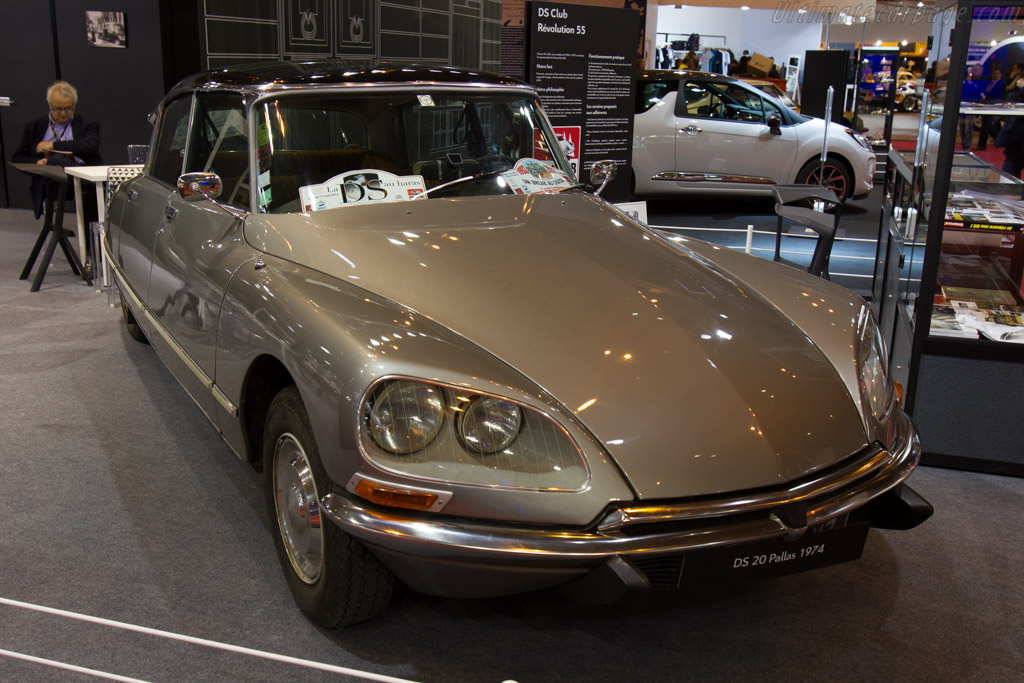 Citroen DS 20 Pallas    - 2016 Retromobile