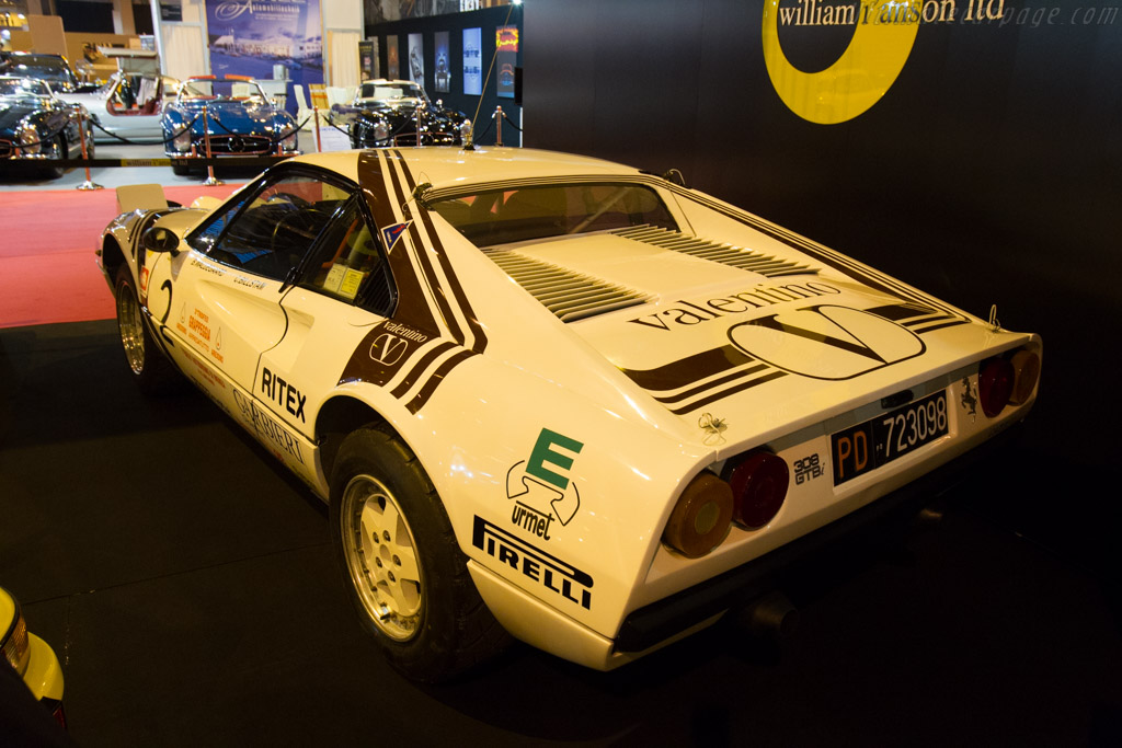 Ferrari 308 GTB Michelotto Group B - Chassis: 18847 - Entrant: William I'anson  - 2016 Retromobile