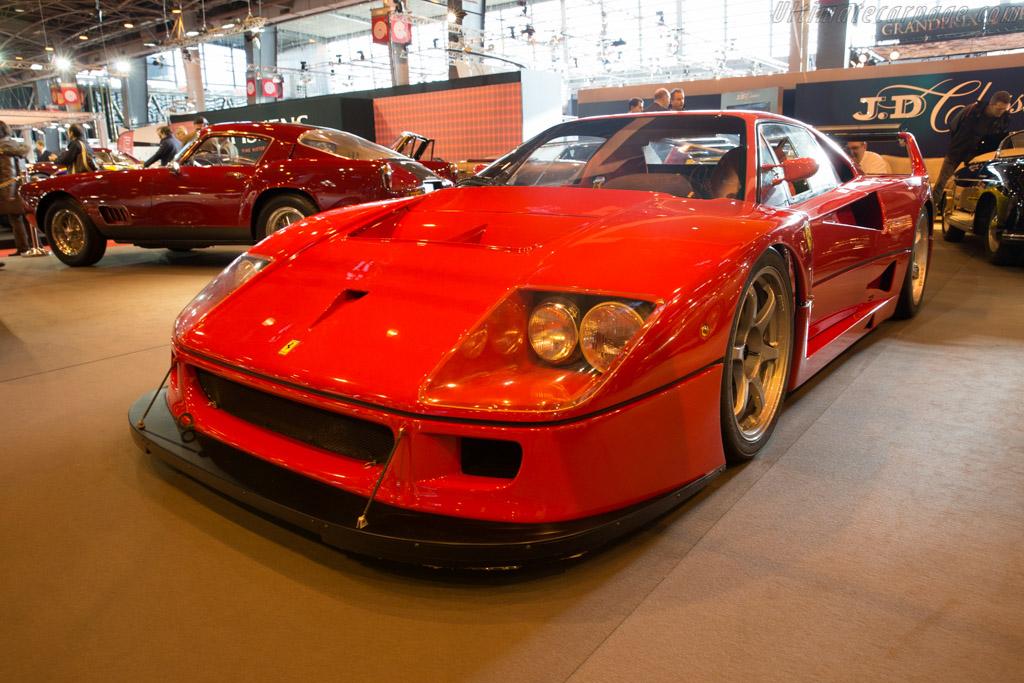 Ferrari F40 LM - Chassis: 97893 - Entrant: JD Classics  - 2016 Retromobile