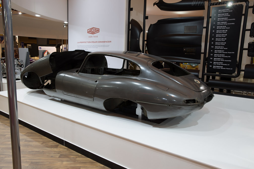 Jaguar E-Type  - Entrant: Jaguar Heritage  - 2016 Retromobile
