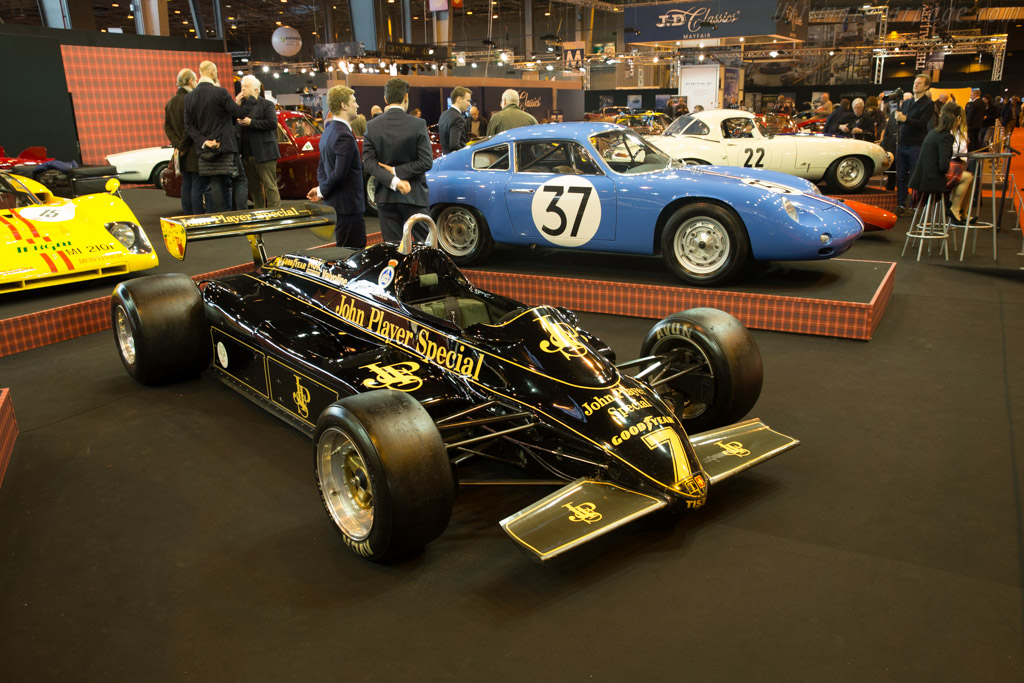 Lotus 91 - Chassis: 91/7 - Entrant: Fiskens  - 2016 Retromobile