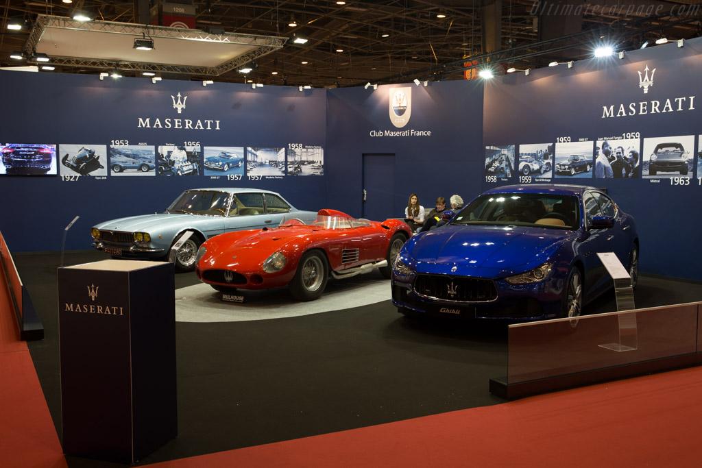 Maserati 300S - Chassis: 3065 - Entrant: Maserati Club France  - 2016 Retromobile