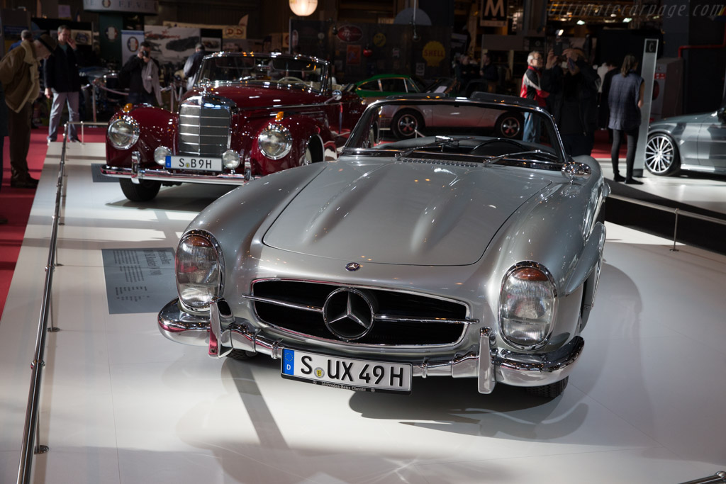 Mercedes 300 SL Roadster  - Entrant: Mercedes-Benz  - 2016 Retromobile