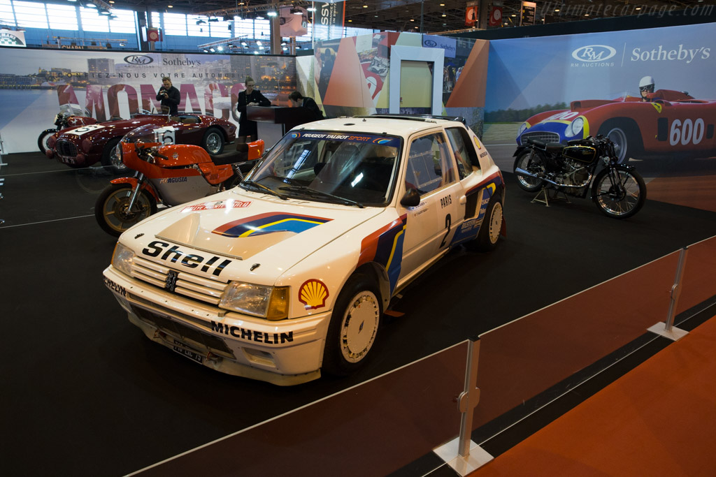 Peugeot 205 Turbo 16 Evo 1 - Chassis: VF3741R76E5200012 - Entrant: RM Sotheby's  - 2016 Retromobile