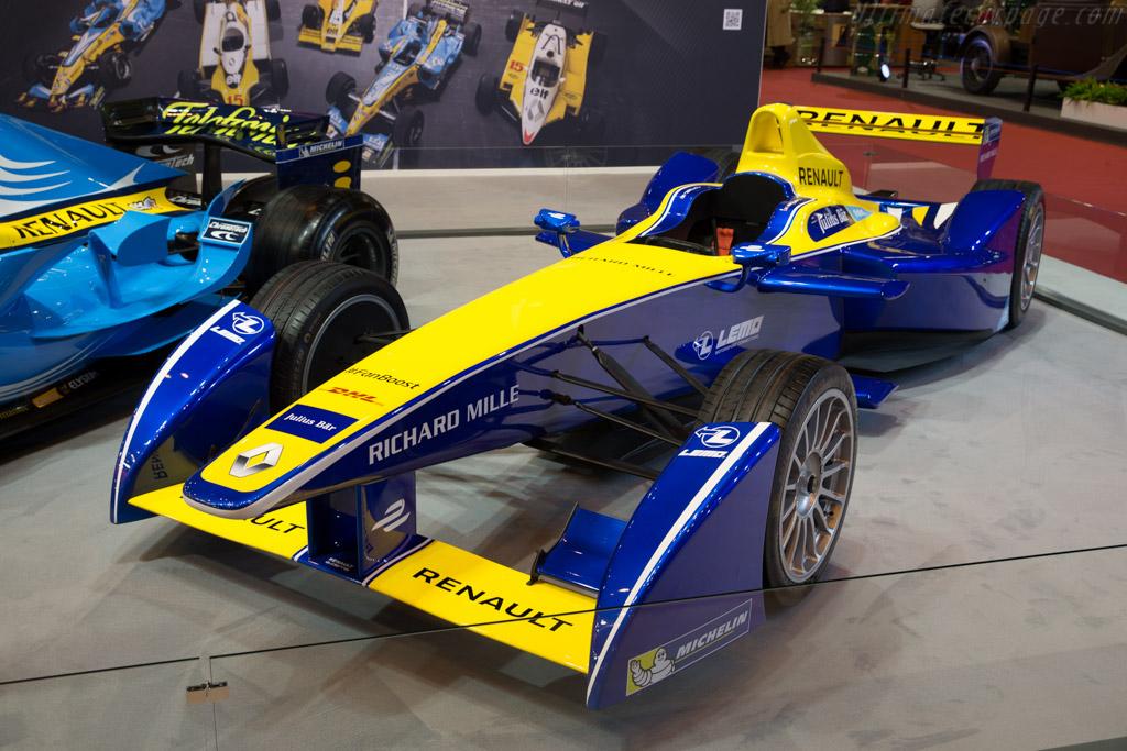 Renault Formule-E  - Entrant: Renault Sport  - 2016 Retromobile