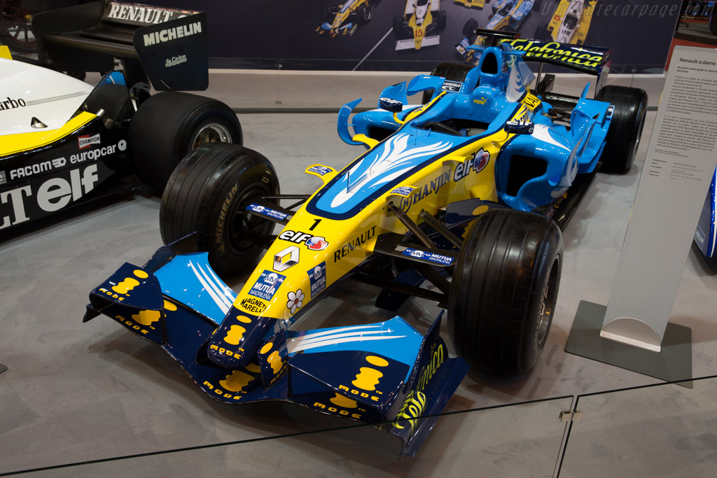 Renault R26    - 2016 Retromobile