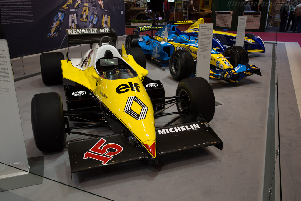 Renault RE40 - Chassis: RE40-04   - 2016 Retromobile