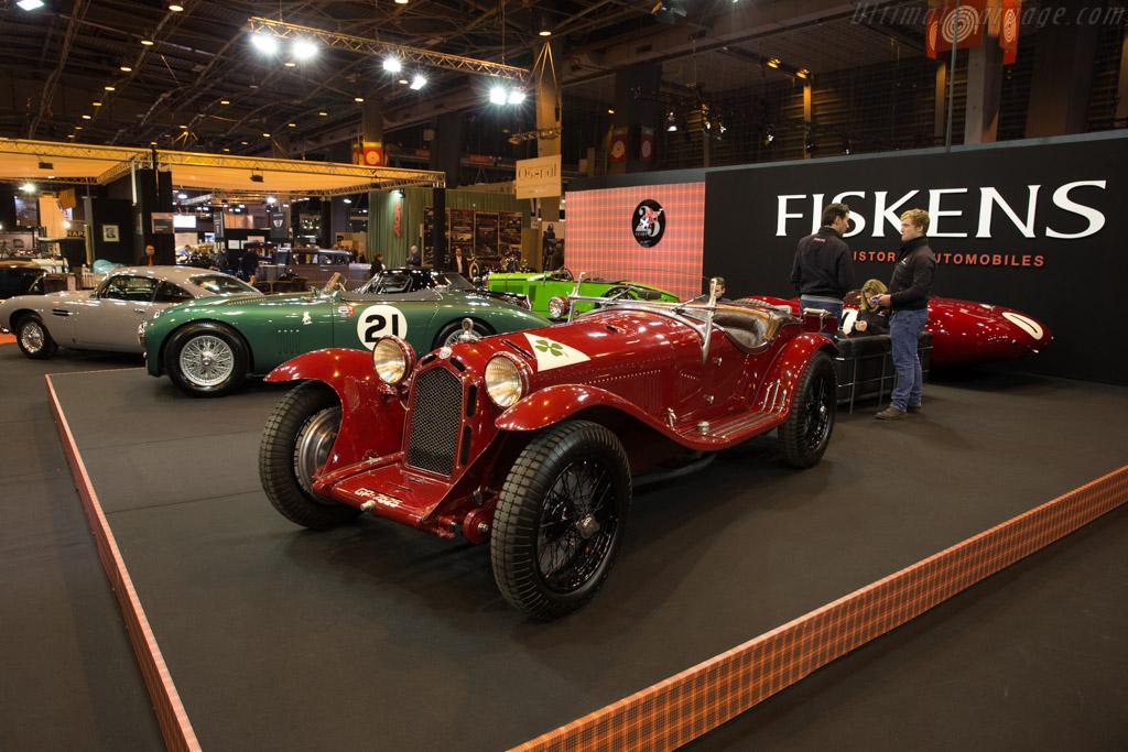 Alfa Romeo 8C 2300 Zagato - Chassis: 2111006 - Entrant: Fiskens  - 2017 Retromobile