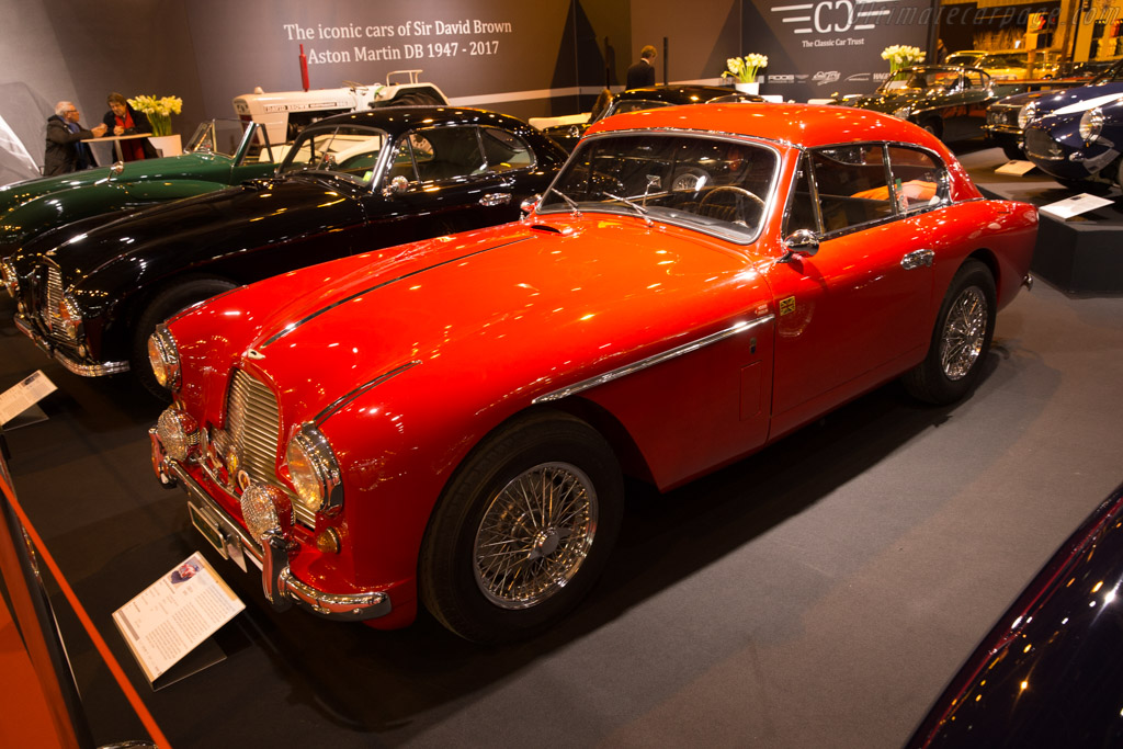 Aston Martin DB2/4    - 2017 Retromobile