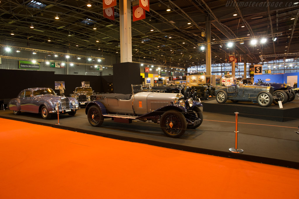 Bentley 3 litre Short Chassis Speed Model - Chassis: HT1637 - Entrant: Lukas Hüni  - 2017 Retromobile
