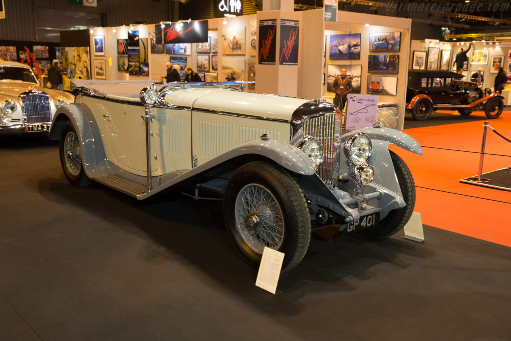 Bentley 8 Litre Vanden Plas Open Tourer - Chassis: YR5095 - Entrant: Lukas Hüni  - 2017 Retromobile