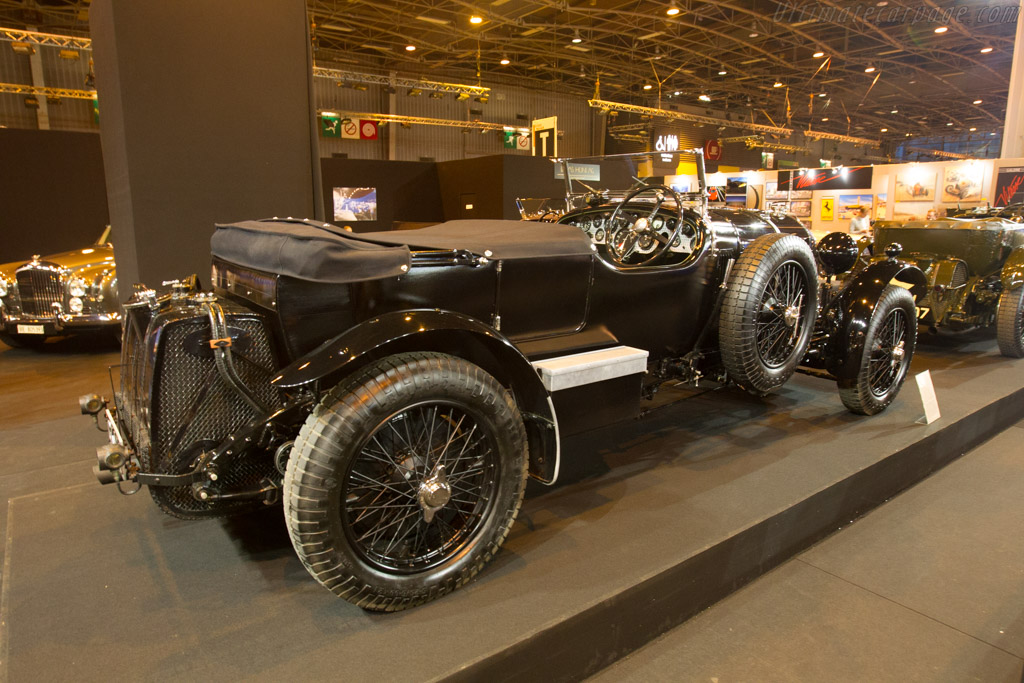 Bentley Blower Le Mans Vanden Plas - Chassis: SM3918 - Entrant: Lukas Hüni  - 2017 Retromobile
