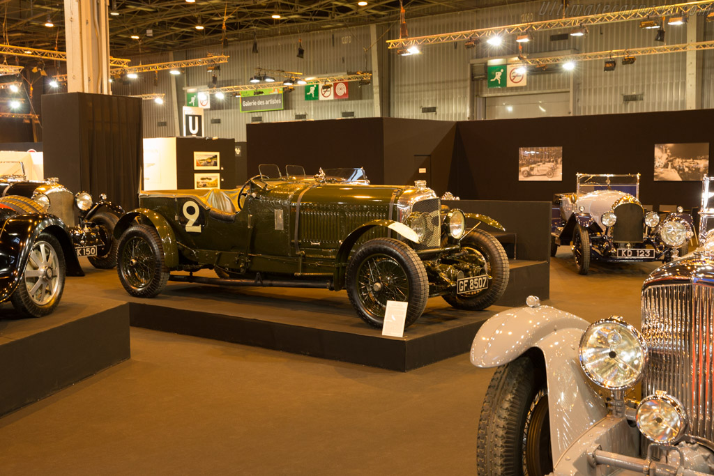 Bentley Speed Six - Chassis: HM2868 - Entrant: Lukas Hüni  - 2017 Retromobile