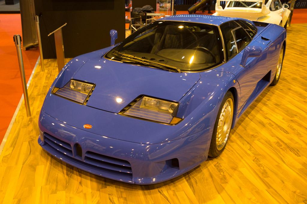 Bugatti EB110 GT - Chassis: ZA9AB01E0PCD39050 - Entrant: Movendi  - 2017 Retromobile