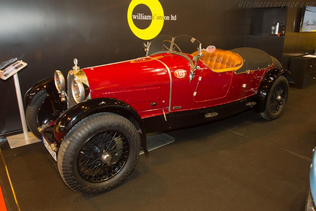 Bugatti Type 38 Lavocat et Marsaud - Chassis: 38221 - Entrant: Will I'Anson  - 2017 Retromobile