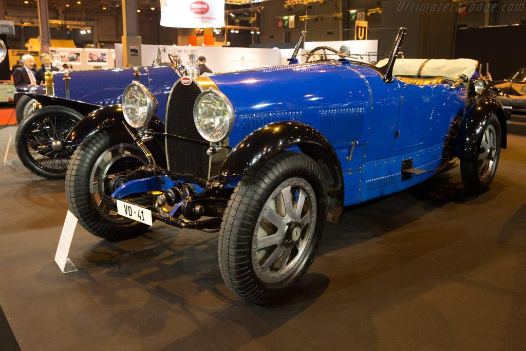Bugatti Type 43 Grand Sport - Chassis: 43181 - Entrant: Lukas Hüni - 2017 Retromobile