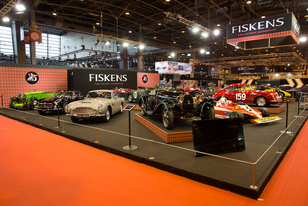 Bugatti Type 55 Billeter & Cartier - Chassis: 55206 - Entrant: Fiskens  - 2017 Retromobile