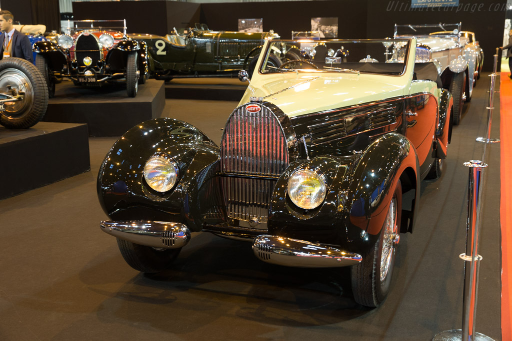 Bugatti Type 57 Aravis Gangloff - Chassis: 57710 - Entrant: Lukas Hüni - 2017 Retromobile