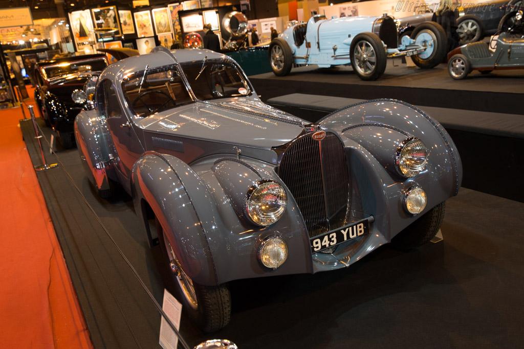 Bugatti Type 57 Atlantic - Chassis: 57473 - Entrant: Lukas Hüni  - 2017 Retromobile