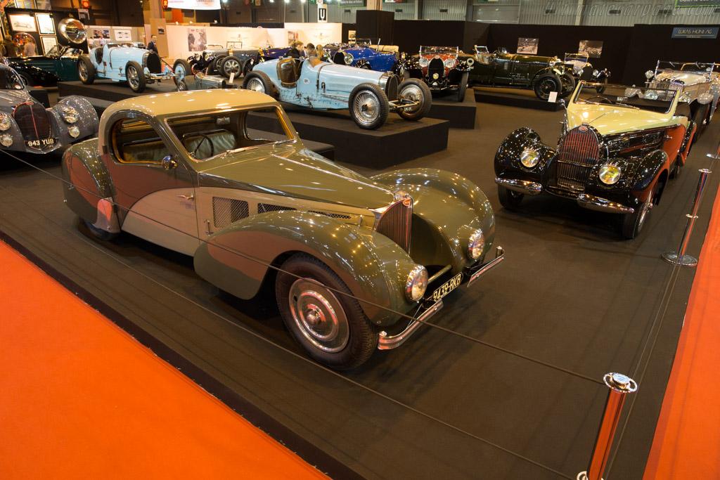 Bugatti Type 57S Atalante - Chassis: 57511 - Entrant: Lukas Hüni  - 2017 Retromobile