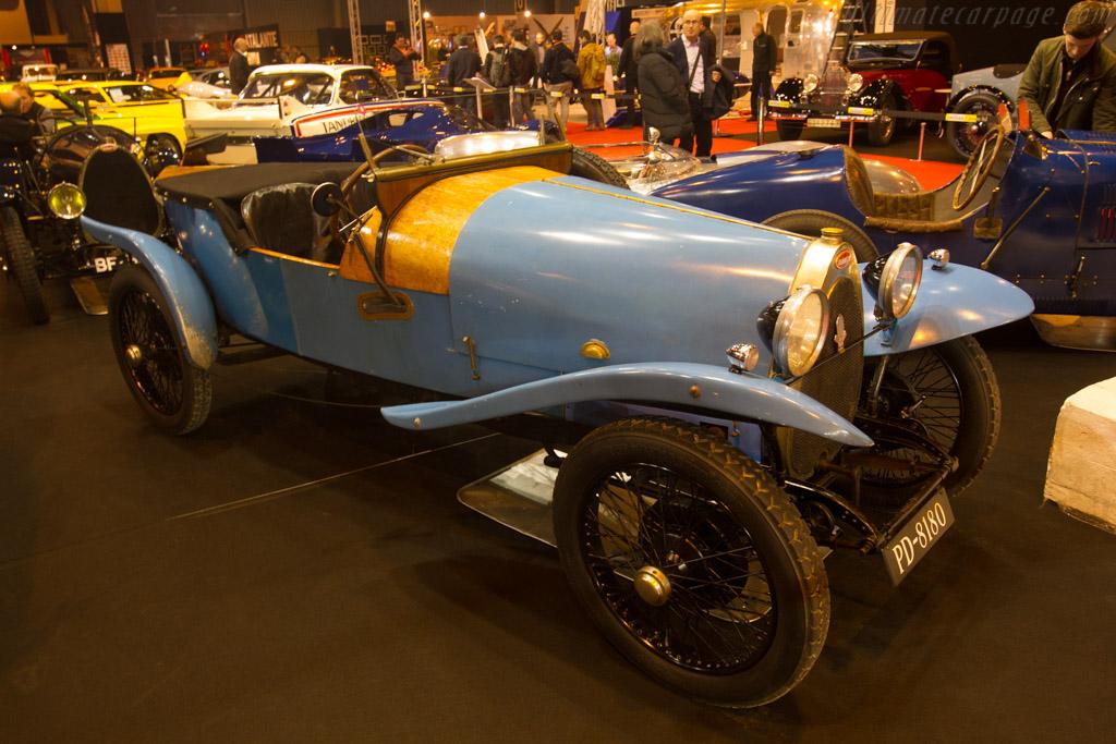Crossley Bugatti 23 Brescia - Chassis: CM1614 - Entrant: Will I'Anson  - 2017 Retromobile