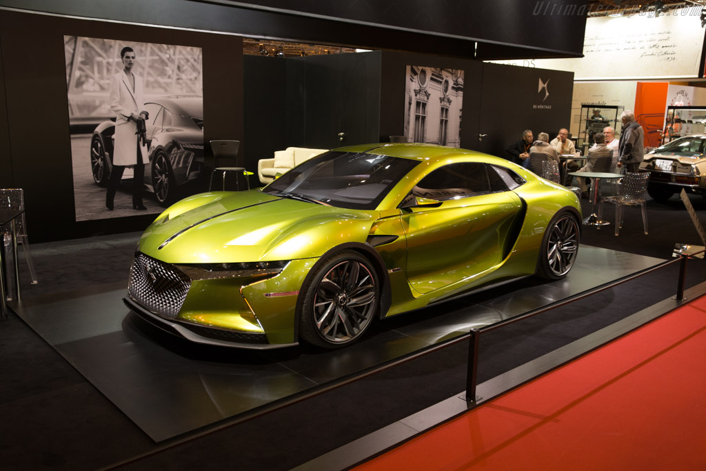 DS E-Tense Concept    - 2017 Retromobile