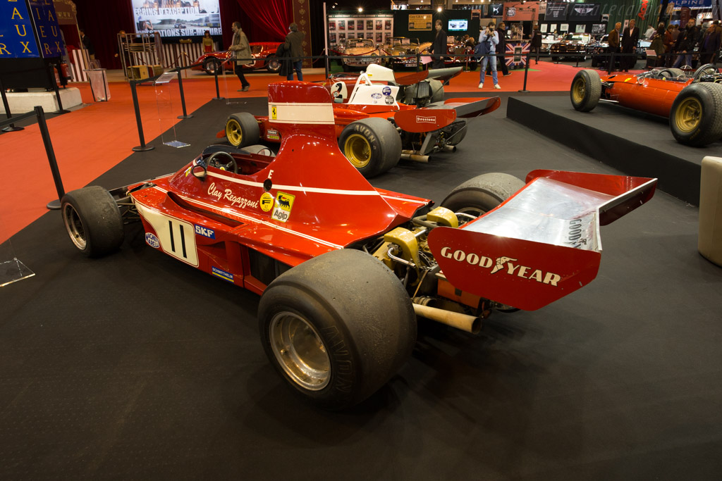 Ferrari 312 B3 - Chassis: 014 - Entrant: Tradex  - 2017 Retromobile