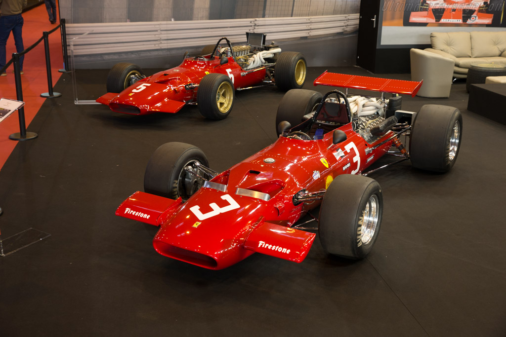 Ferrari 312 F1 - Chassis: 0017 - Entrant: Tradex  - 2017 Retromobile