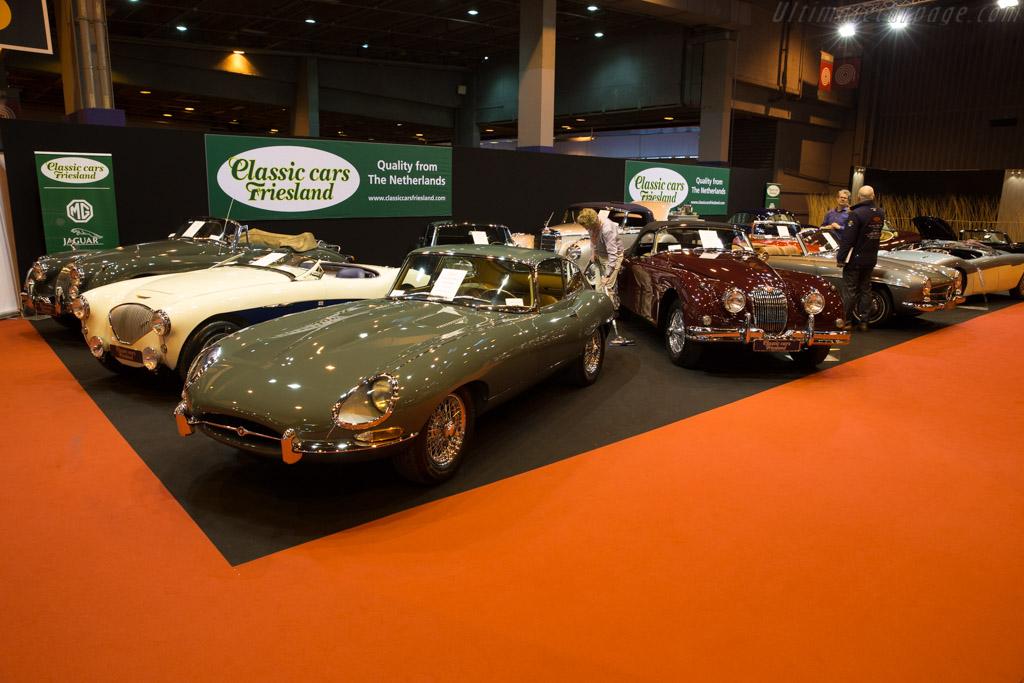 Jaguar E-Type  - Entrant: Classic Cars Friesland  - 2017 Retromobile