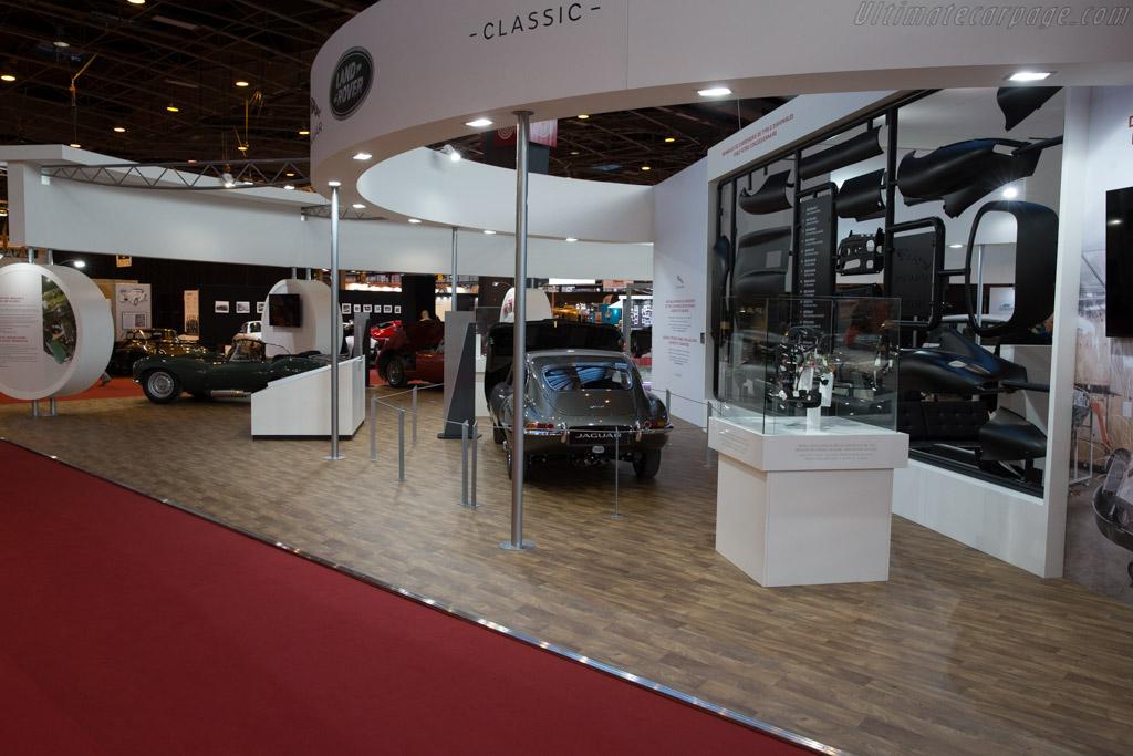 Jaguar E Type Series 1 - Chassis: 885569 - Entrant: Jaguar Land Rover  - 2017 Retromobile