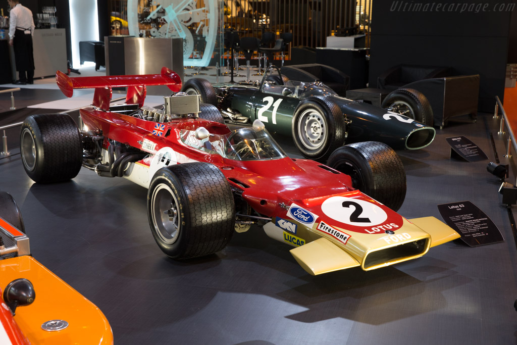 Lotus 63 - Chassis: 63-1 - Entrant: Richard Mille  - 2017 Retromobile