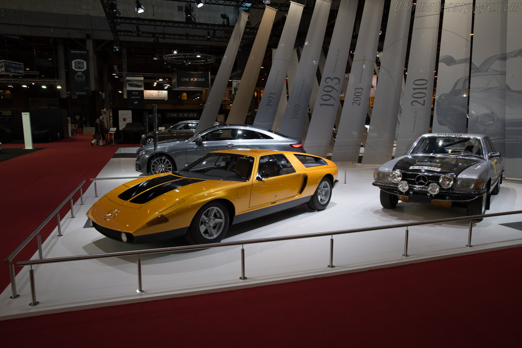 Mercedes-Benz C111  - Entrant: Mercedes-Benz Classic  - 2017 Retromobile