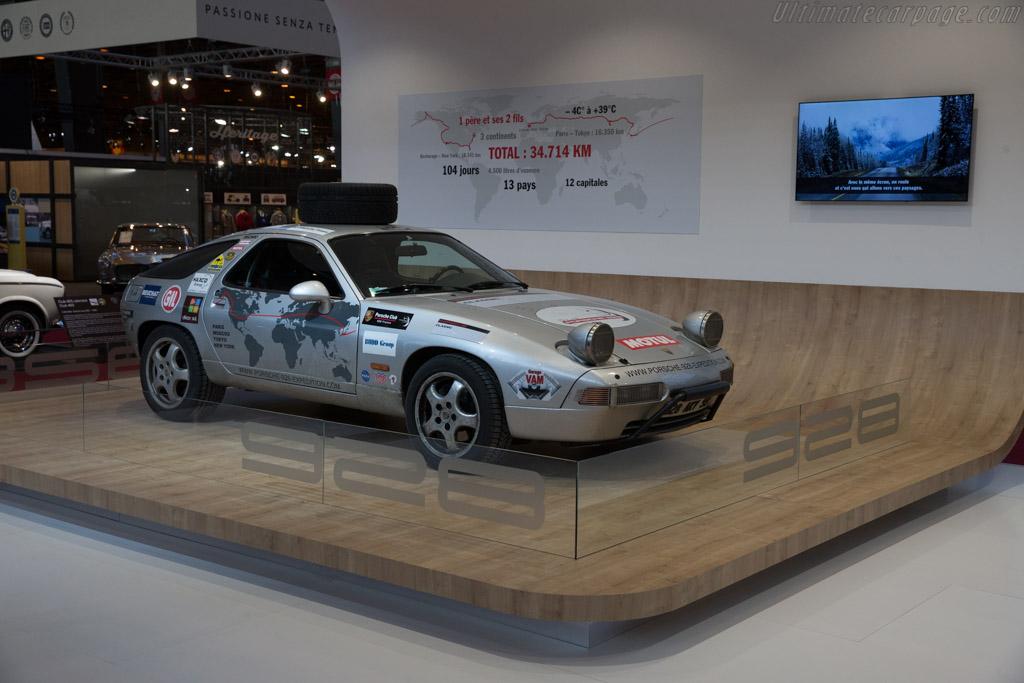 Porsche 928 Round the World  - Entrant: Porsche Classic  - 2017 Retromobile